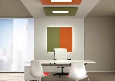 CARUSO Silente Wand + Plafond Paneel Light